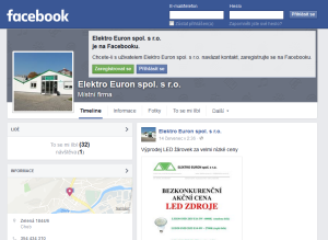 Facebook elekro euron